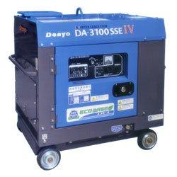 画像1: デンヨーDA-3100SSEIV:インバータディーゼル防音タイプ エコベース