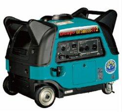 画像1: デンヨーGE-2800SS-IV2:防音型インバータ発電機[ヤマハEF2800iSE OEM製品]