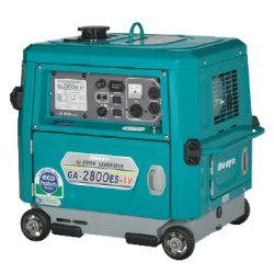 画像1: デンヨーGA-2800ES-IV:インバータガソリン防音タイプ
