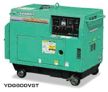 ヤンマーYDG600VST-6E:空冷ディ...